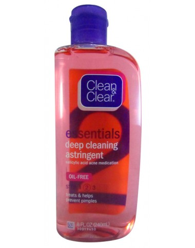 Clean & Clear Astringent Face Wash 50ml