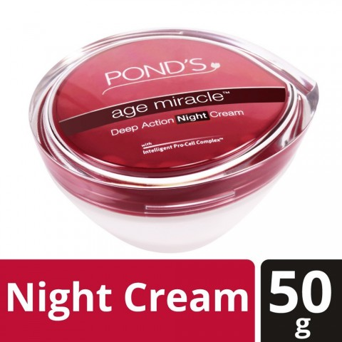 Ponds Age Miracle Deep Action Night Cream
