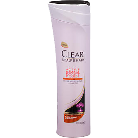 Clear Scalp n Hair Active Damage Resist Nourishing Shampoo
