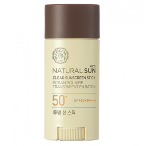 Face Shop Natural Sun Eco Clear Sun Screen Stick SPF50+ PA+++