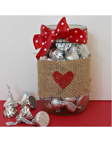 Kisses Chocolate Jar