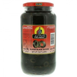 Figaro Black Olives Plain 920g