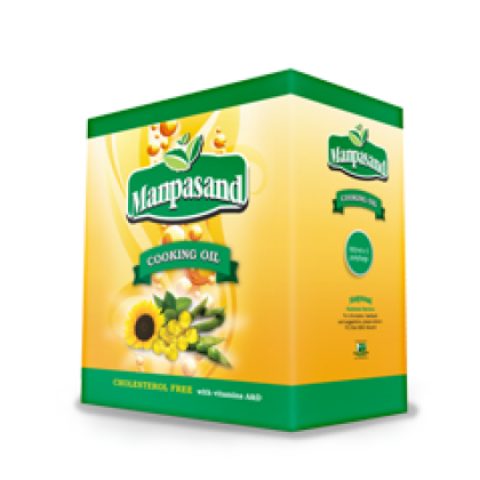 Manpasand Cooking Oil 5x900ml