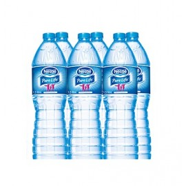 Nestle Pure Life Water 1.5 Litre (6 Pcs)