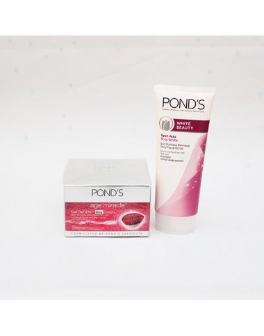 Ponds White Beauty + Ponds Age Miralce