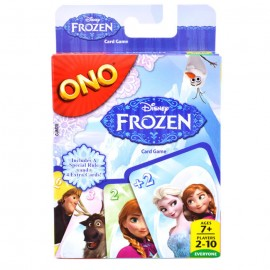 Ono Disney Frozen Card Game