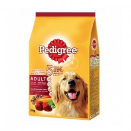 Pedigree Dog Food Adult Liver Flavor 3 Kg