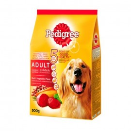 Pedigree Dog Food Beef & Vegetables 500g