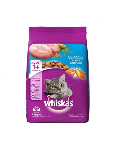 Whiskas Cat Food Seafood 1.2kg