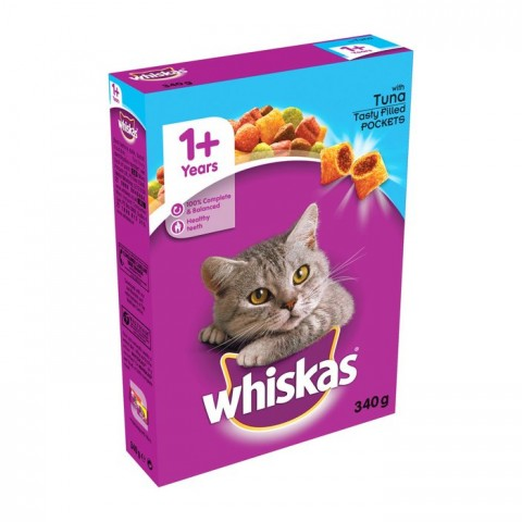 Whiskas Cat Food Tuna 340g