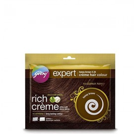 Godrej Creme Hair Color - Honey Brown