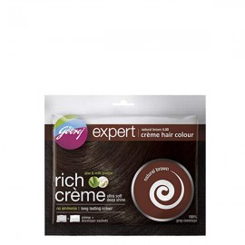 Godrej Creme Hair Color - Natural Brown