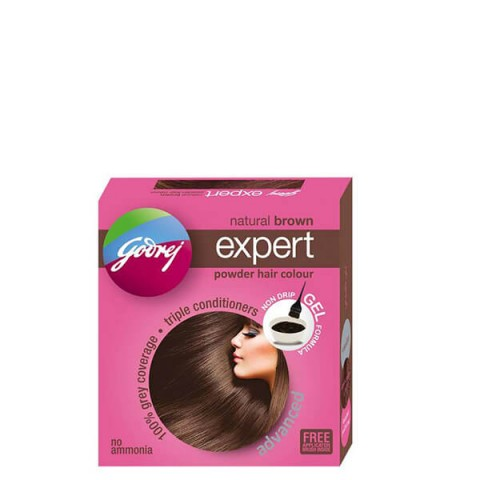 Godrej powder - Natural brown