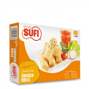 Sufi Chicken Rolls 300g