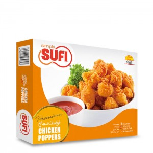 Simply Sufi Chicken Poppers Large - 780g