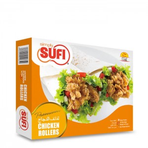 Simply Sufi Chicken Rollers Large - 750g