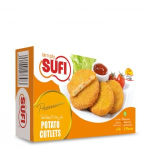 Simply Sufi Potato Cutlets - 500g