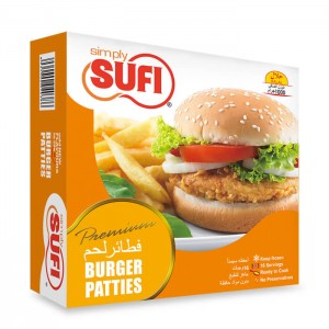Simply Sufi Burger Patties Small - 380g