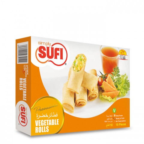 Sufi Vegetable Rolls 300g