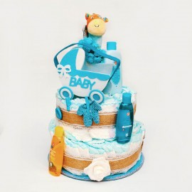 Diaper Cake - Baby Shower