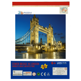 3d Puzzle London Bridge Tower