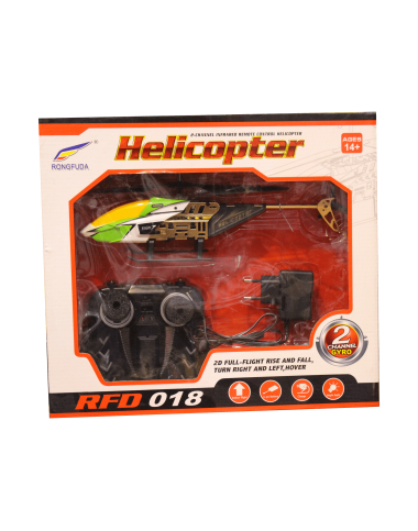 Helicopter - Two Channel Gyroscope