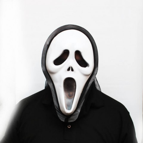 White Scream - Halloween Masks