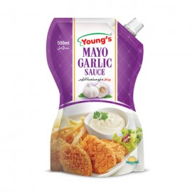 Young's Mayo Garlic - 500ml