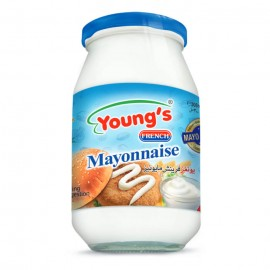 Young's Mayonnaise Glass Jar - 300ml