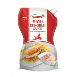 Young's Mayo Red Chilli - 200ml