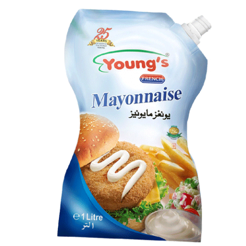 Young's Mayonnaise 1Ltr