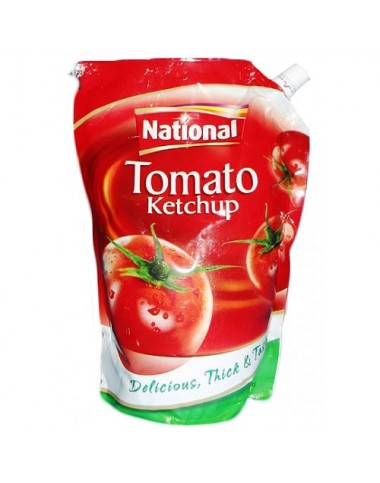 National Tomato Ketchup - 475g