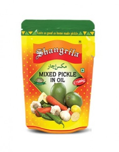 Shangrila Mix Pickle in Oil - 500g
