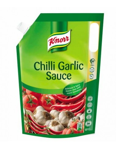 Knorr Chilli & Garlic Sauce - 1Kg