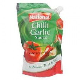 National Chilli & Garlic Sauce - 1kg