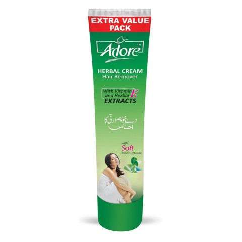 Adore Herbal Hair Removing Cream Family Pack