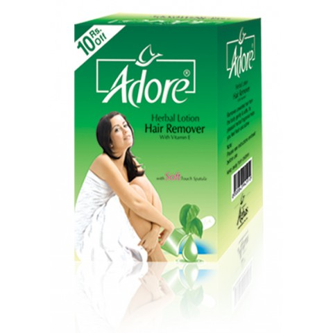 Adore Herbal Hair Removing Lotion Family Pack