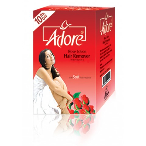 Adore Rose Hair Removing Lotion Family Pack
