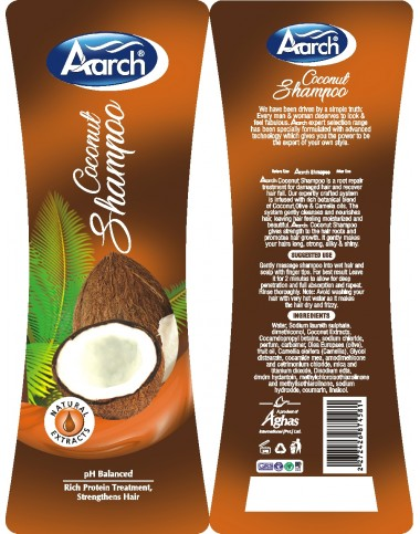 Aarch Coconut Shampoo 500ML