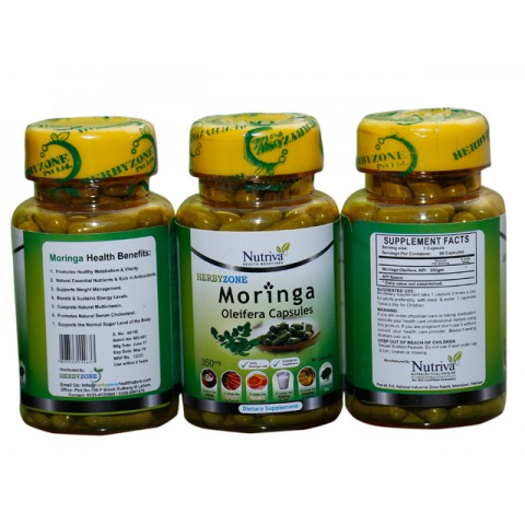 MORINGA Capsules for Sugar