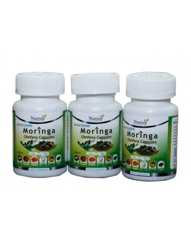 MORINGA Multi Vitamin Capsules For Weight Loss (Tummy Trimmer)