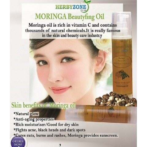 MORINGA Oil For Hair Care and Skin Care - 50ml